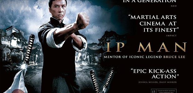 "Wing Chun Grandmaster Ip Man in ""Ip Man"" and ""Ip Man 2"""